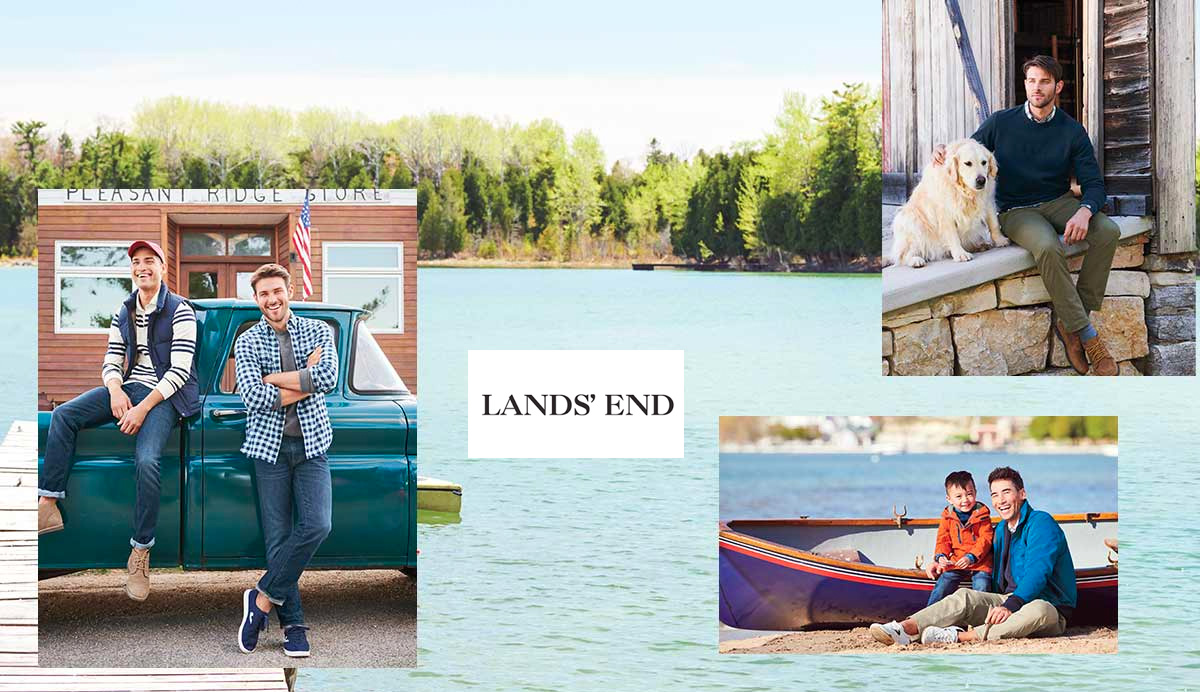 Lands' End apparel & accessories from $10 Prime shipped in Amazon's Gold Box