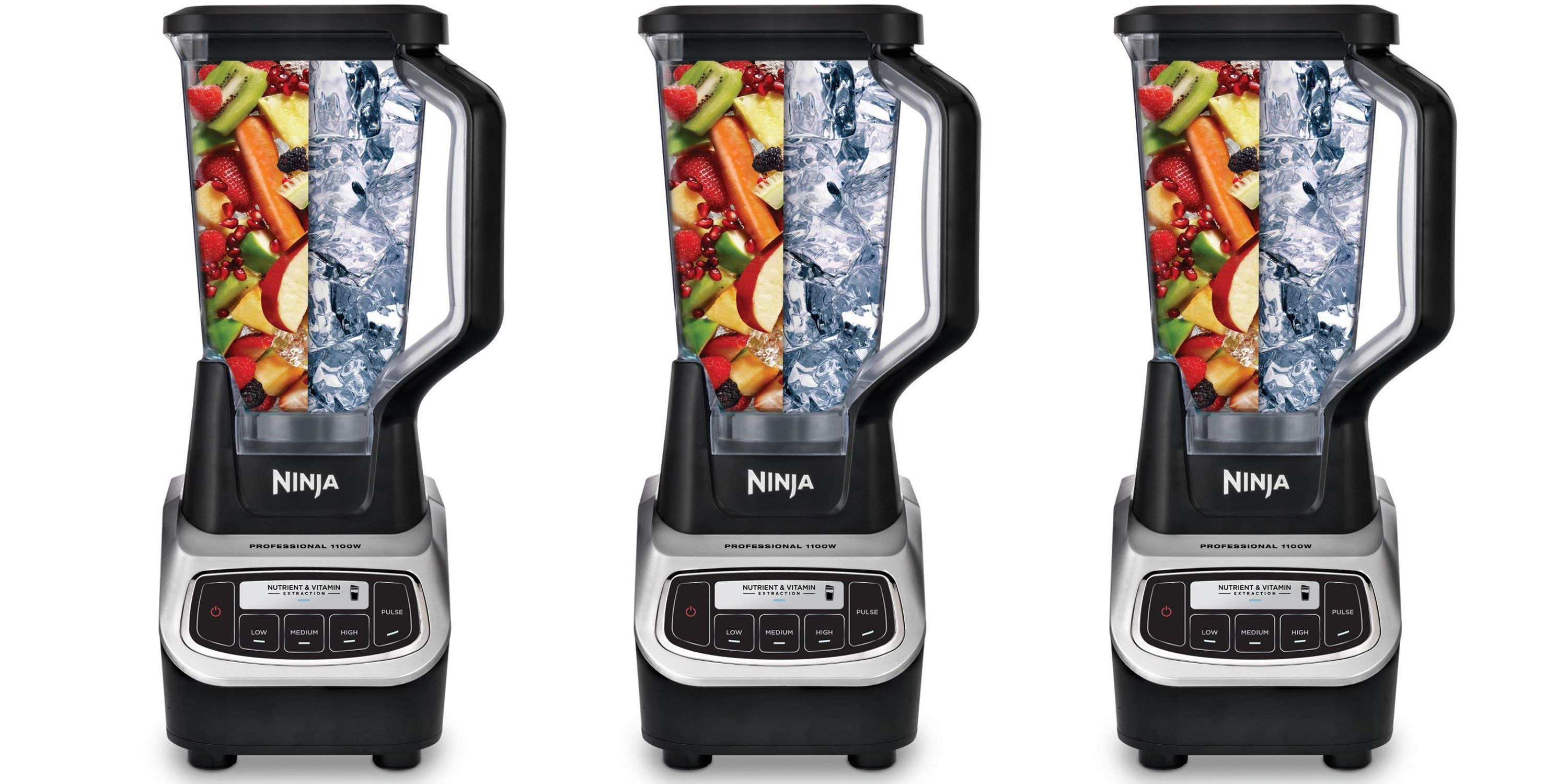 Ninja Pro Blender w/ 2 smoothie cups drops to $70 for today only (Reg. $120+)