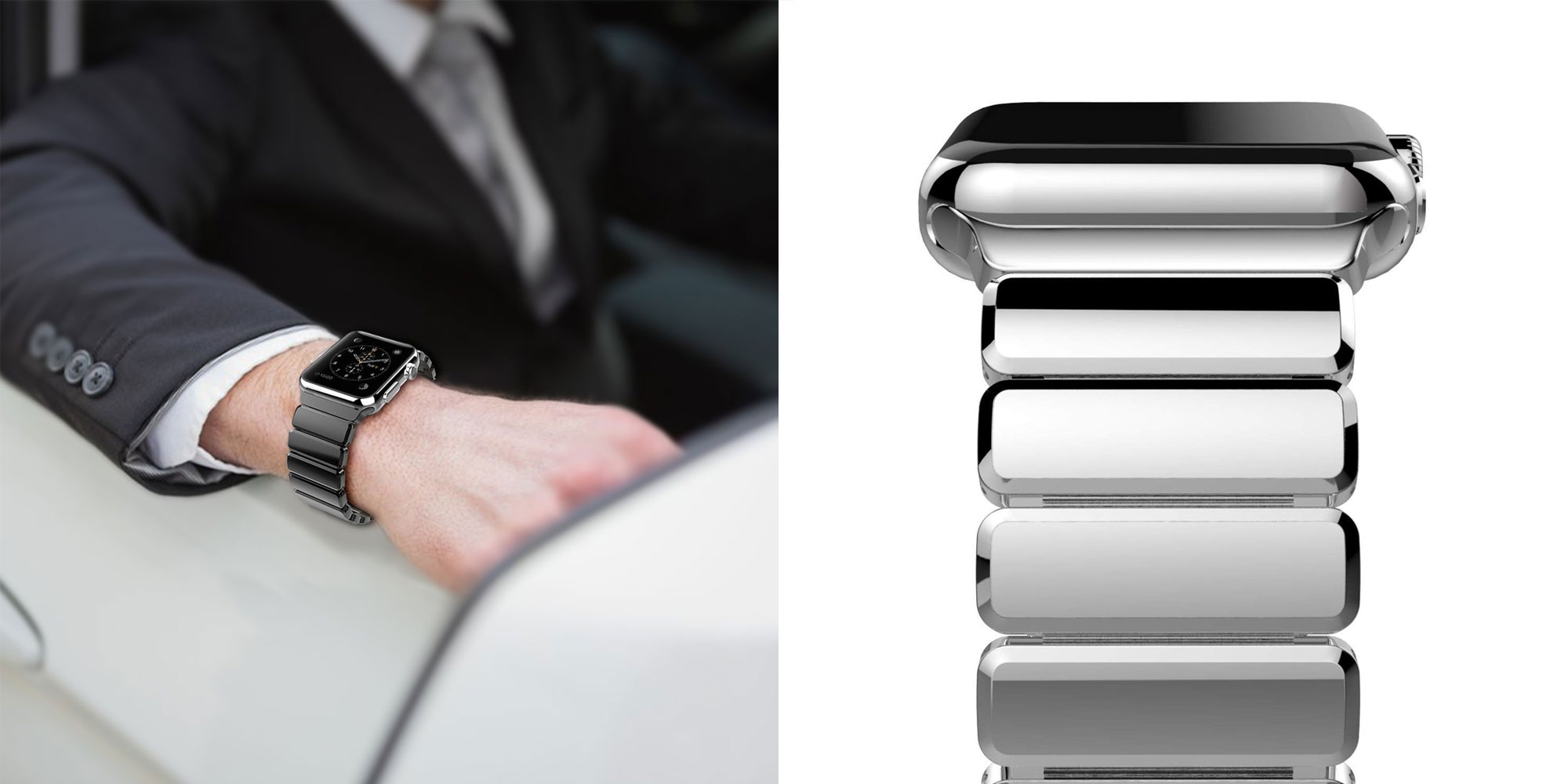 This Apple Watch band looks like the official Link Bracelet for a fraction of the price: $19
