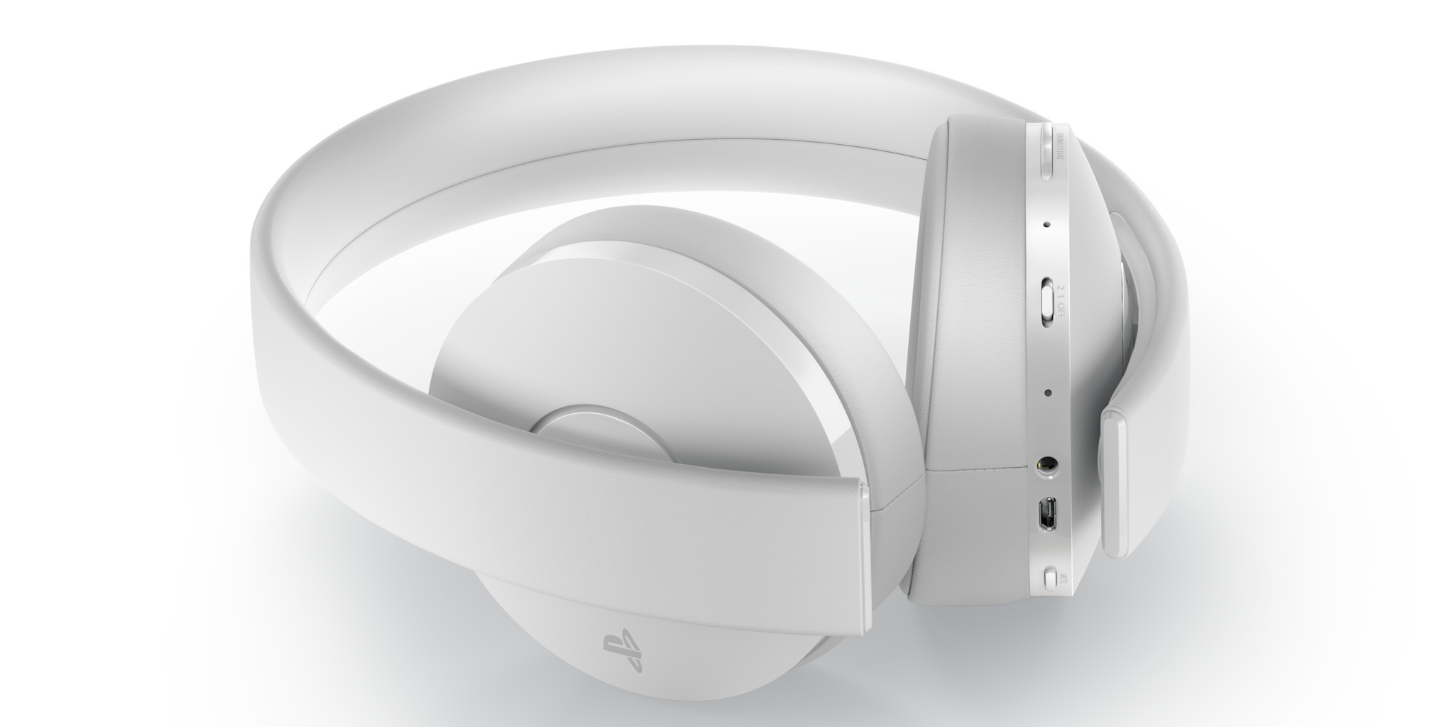Sony's PlayStation Gold Wireless Headset goes glacier white next month