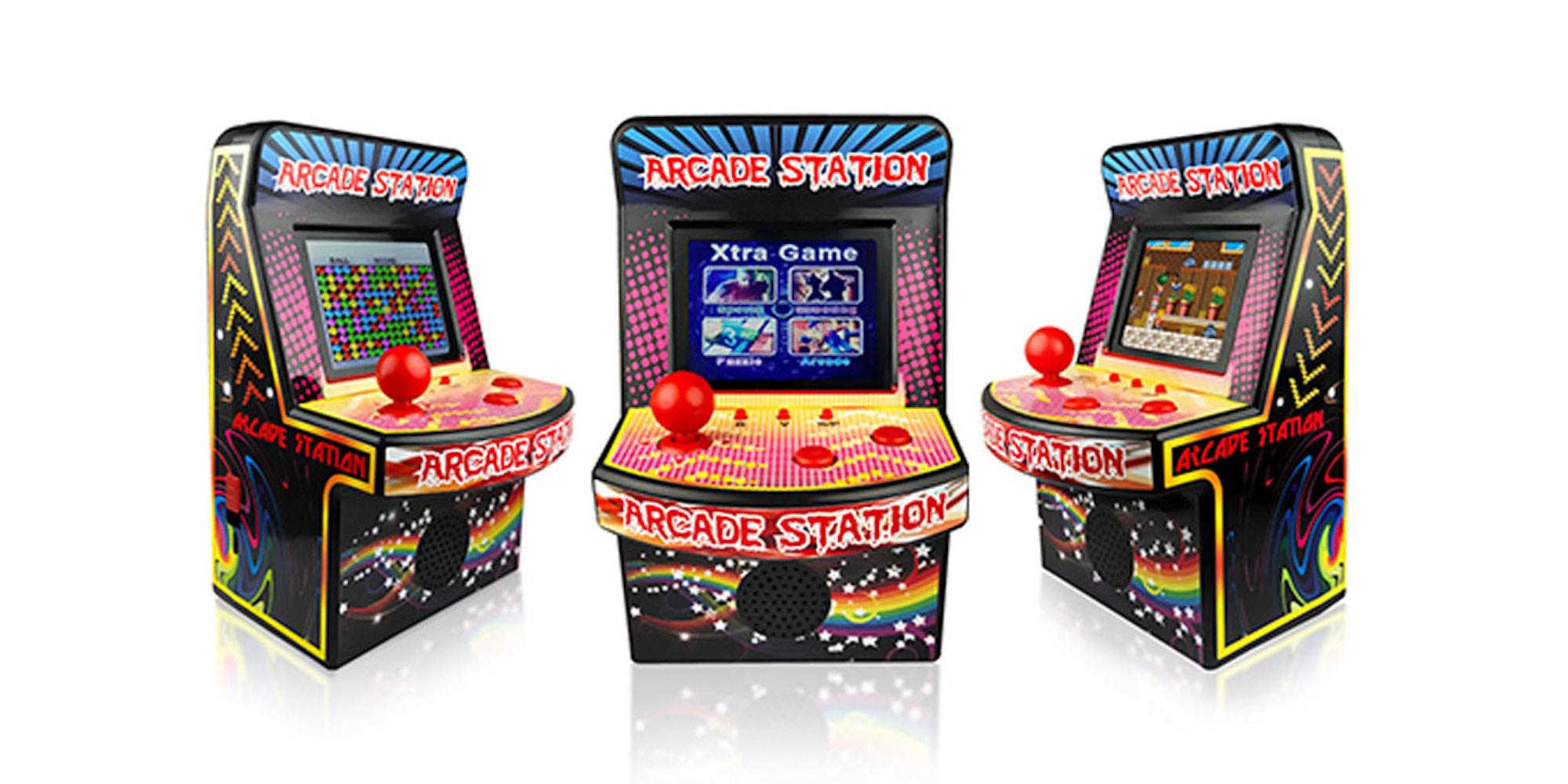This mini retro arcade machine w/ 250 titles is now just $30