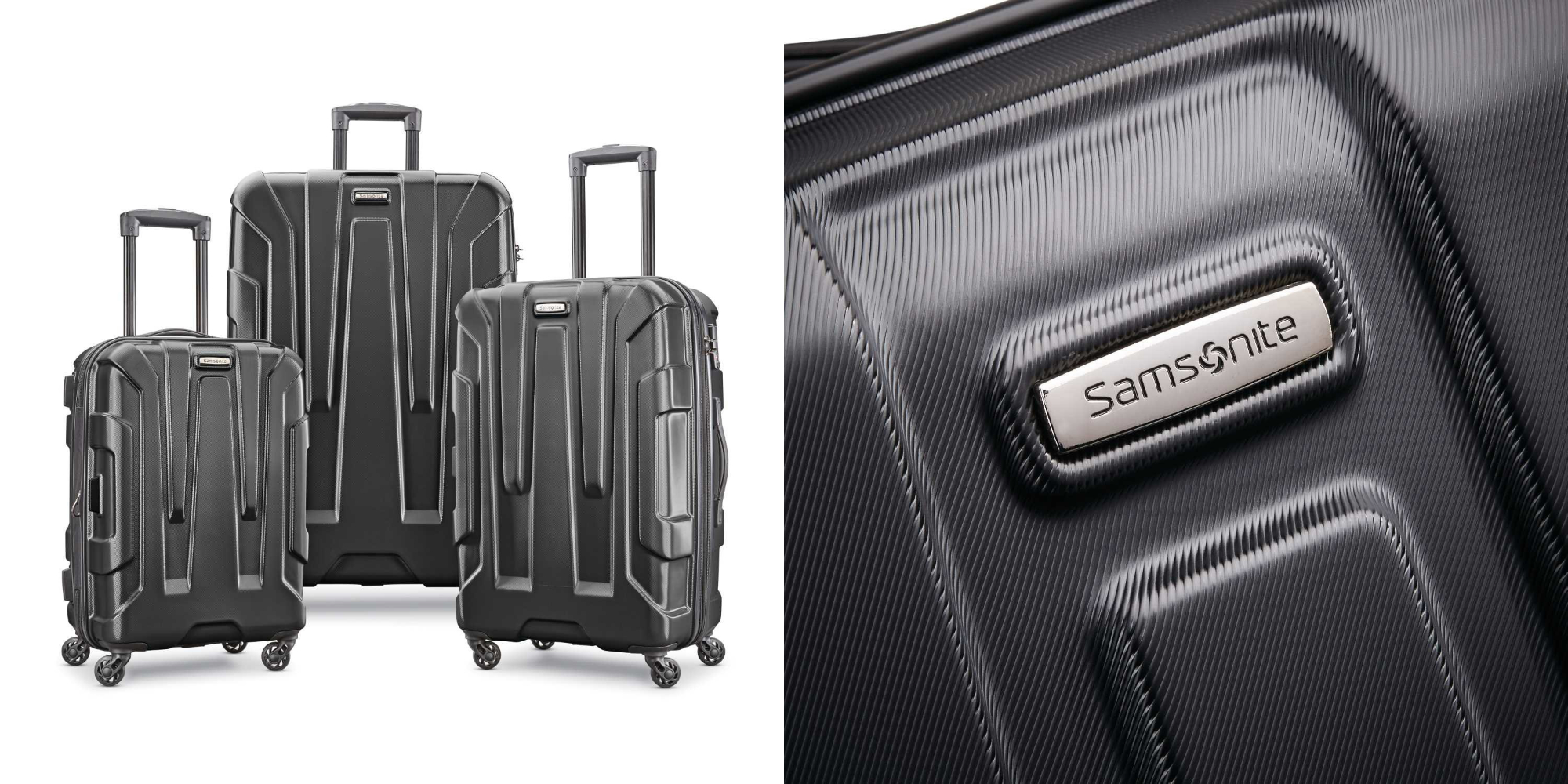 Samsonite's high-end 3-piece Centric Spinner Luggage Set drops to $229 shipped (Save $70)