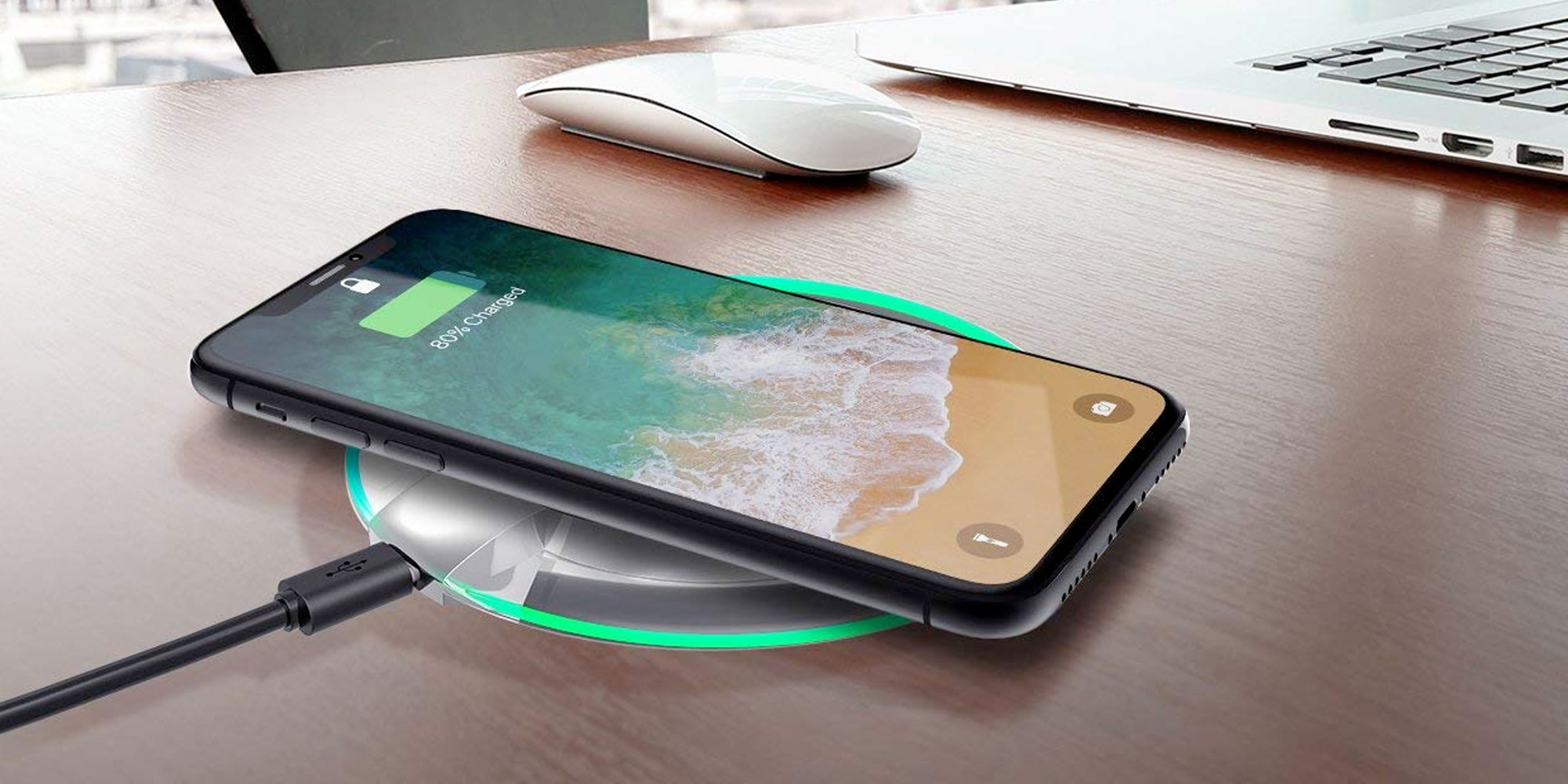 Outfit your entire home with these 7.5/10W Qi Charging Pads for $10 Prime shipped