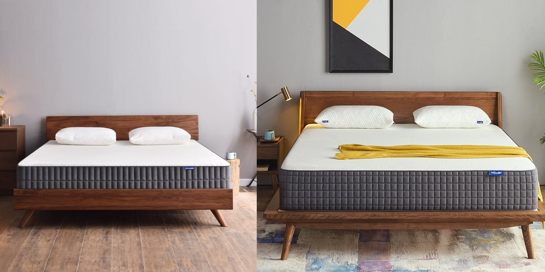 Sweetnight Gel Memory Mattresses For 100 Off Today At