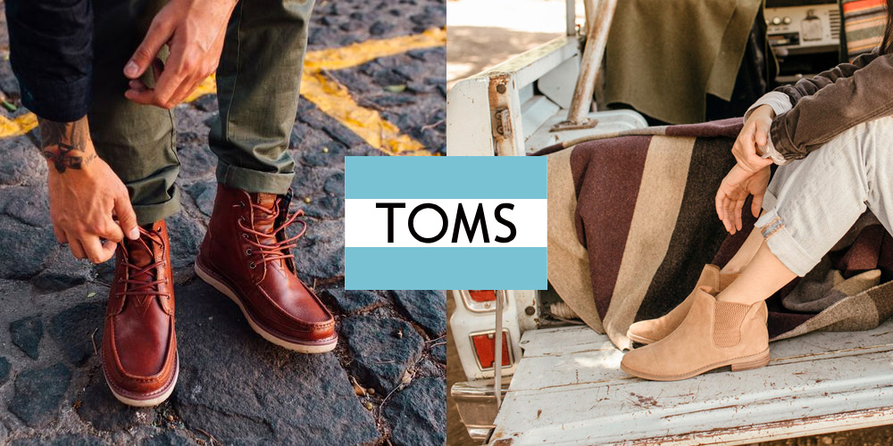 TOMS is updating your footwear for a new year with an extra 25% off boots, sneakers, more