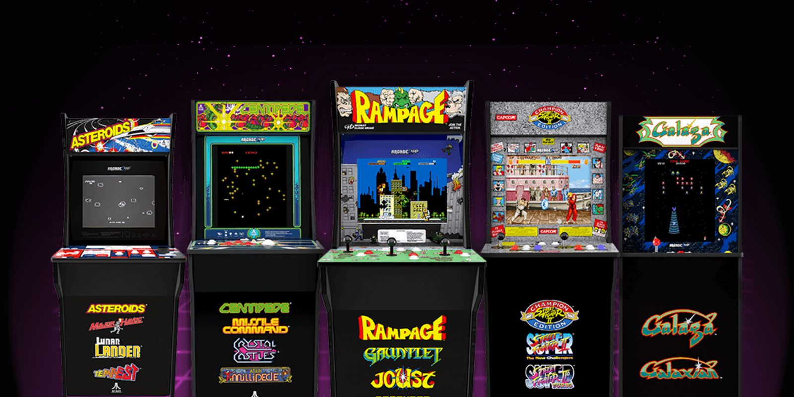 Enjoy retro gaming on these $249 Arcade1Up cabinets (Reg