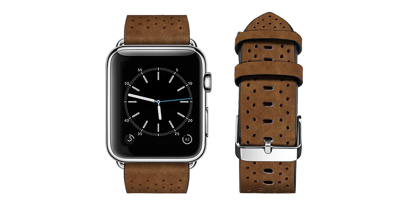 Give your Apple Watch a new leather band via Amazon for $3.50