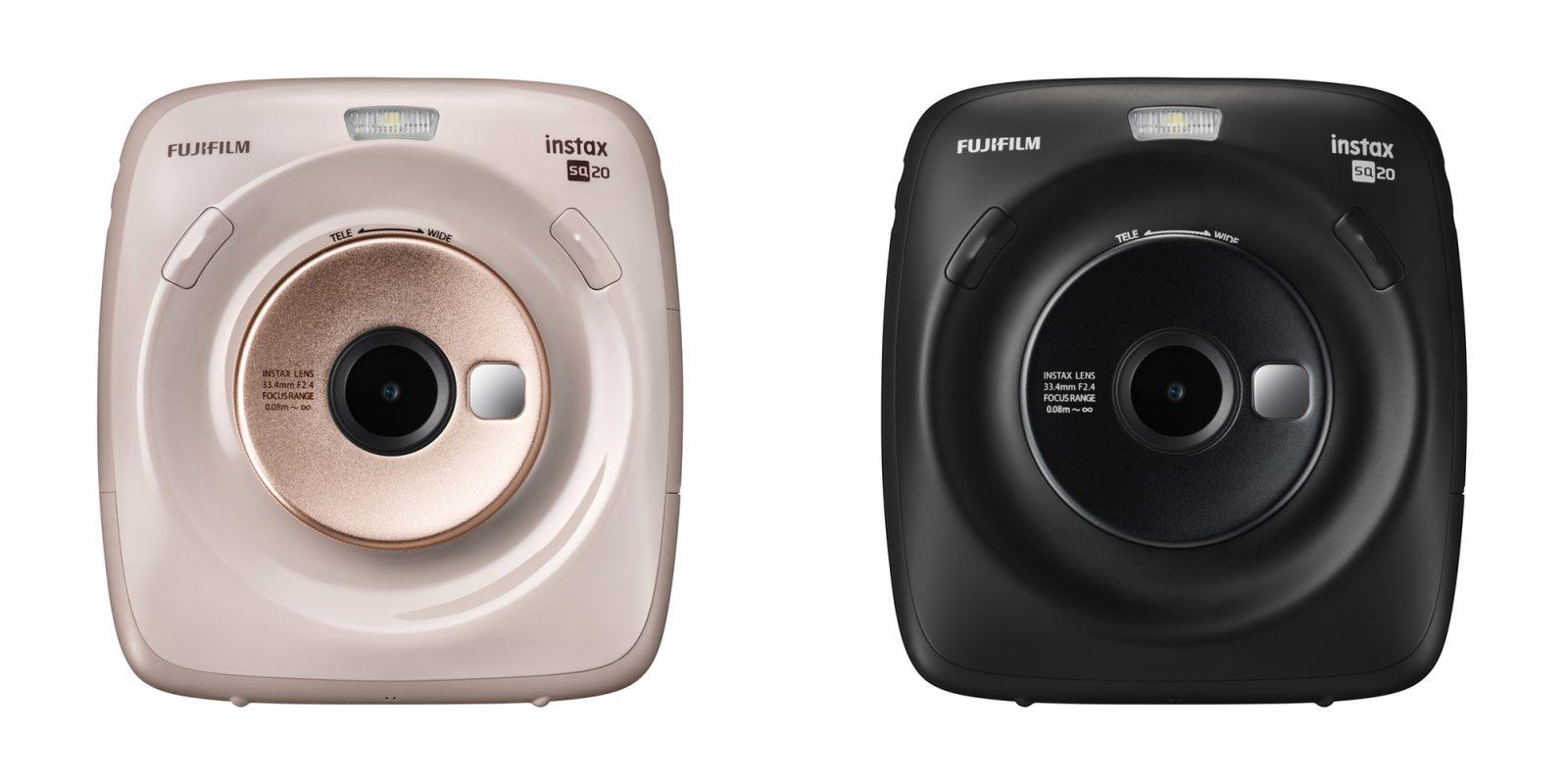 Fujifilm's latest instant camera wraps video recording into