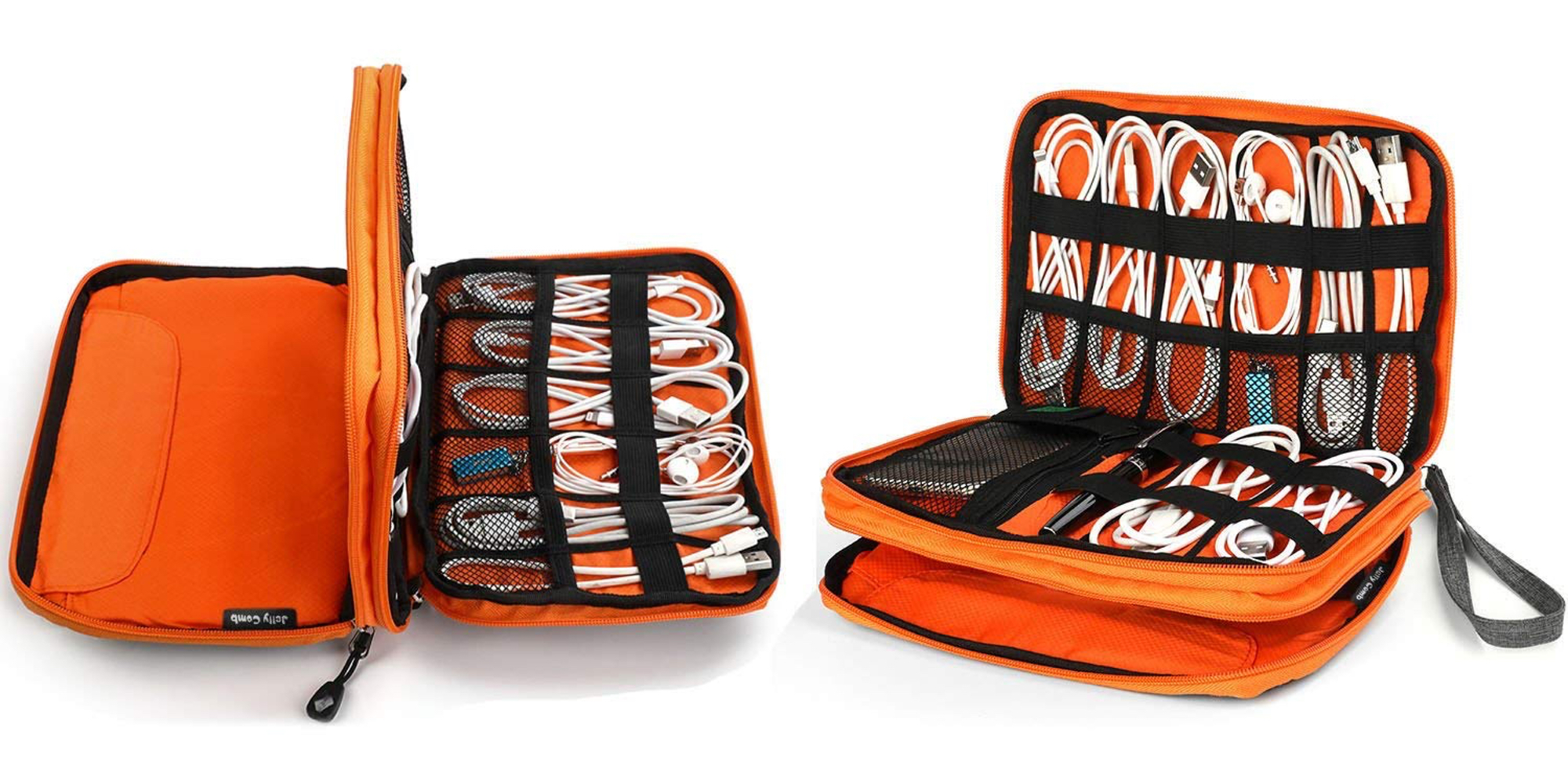 This waterproof cable organizer keeps your gear nice and tidy at under $10 shipped