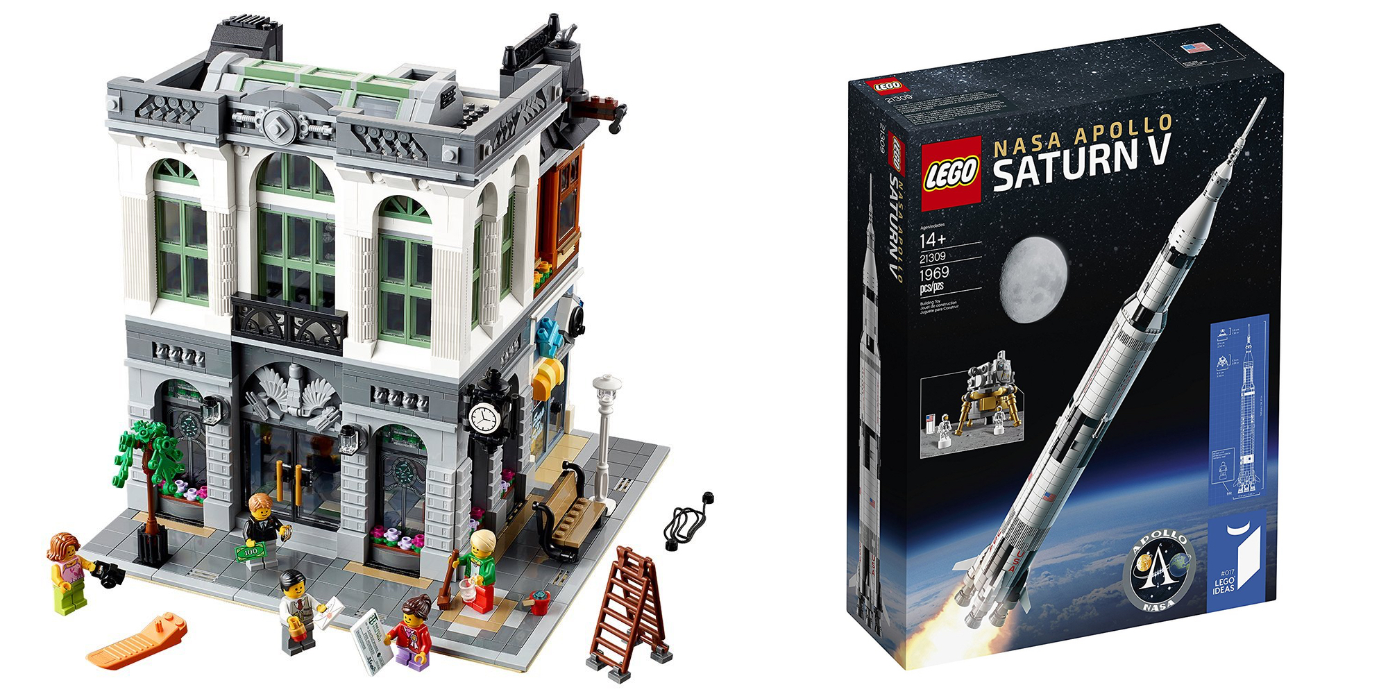 Assemble Your Next Lego Set At Up To 25 Off Brick Bank 146 Apollo Saturn V To5toys