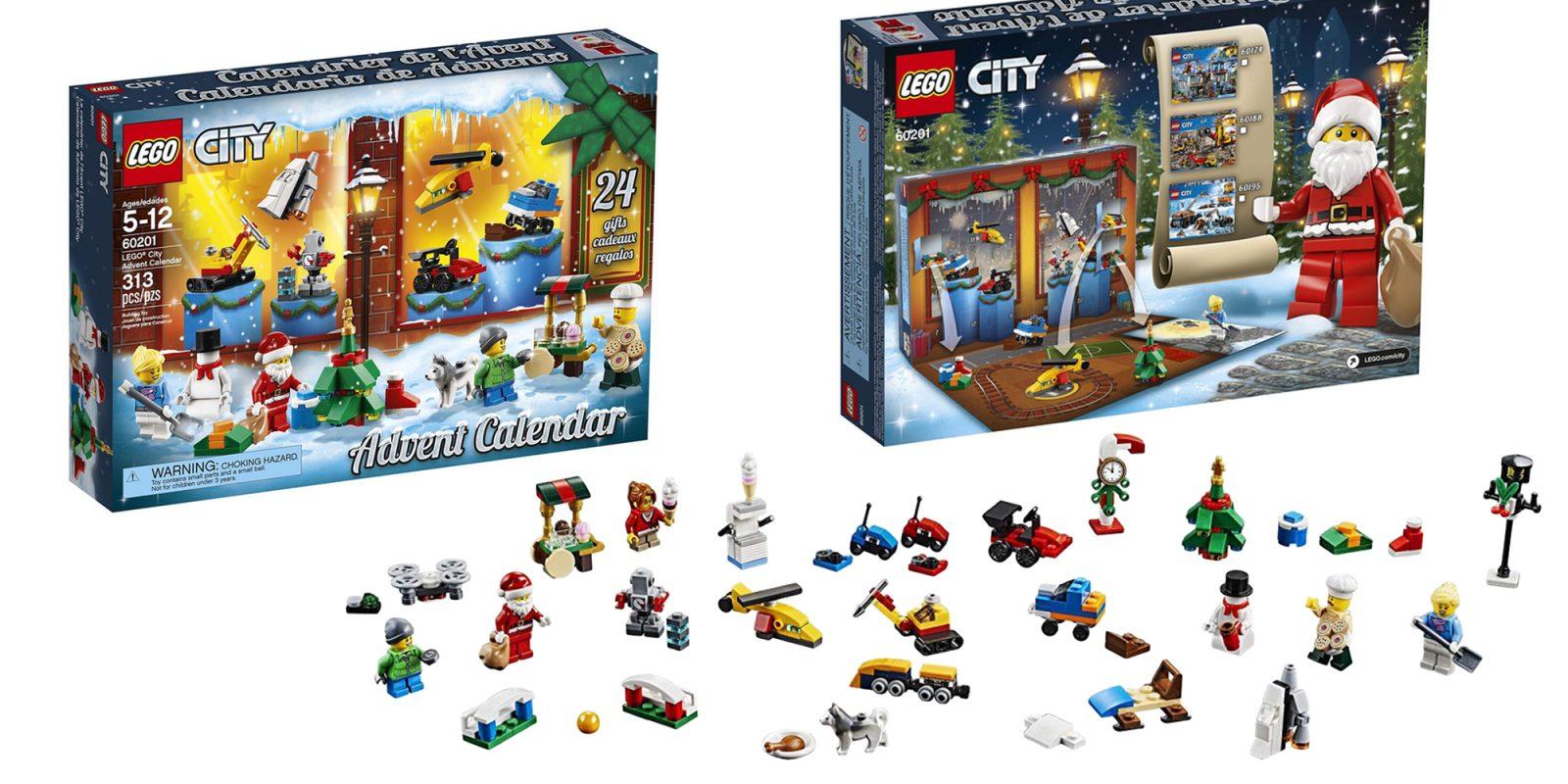 Lego S City Advent Calendar Packs 24 Miniature Builds At 22 Reg