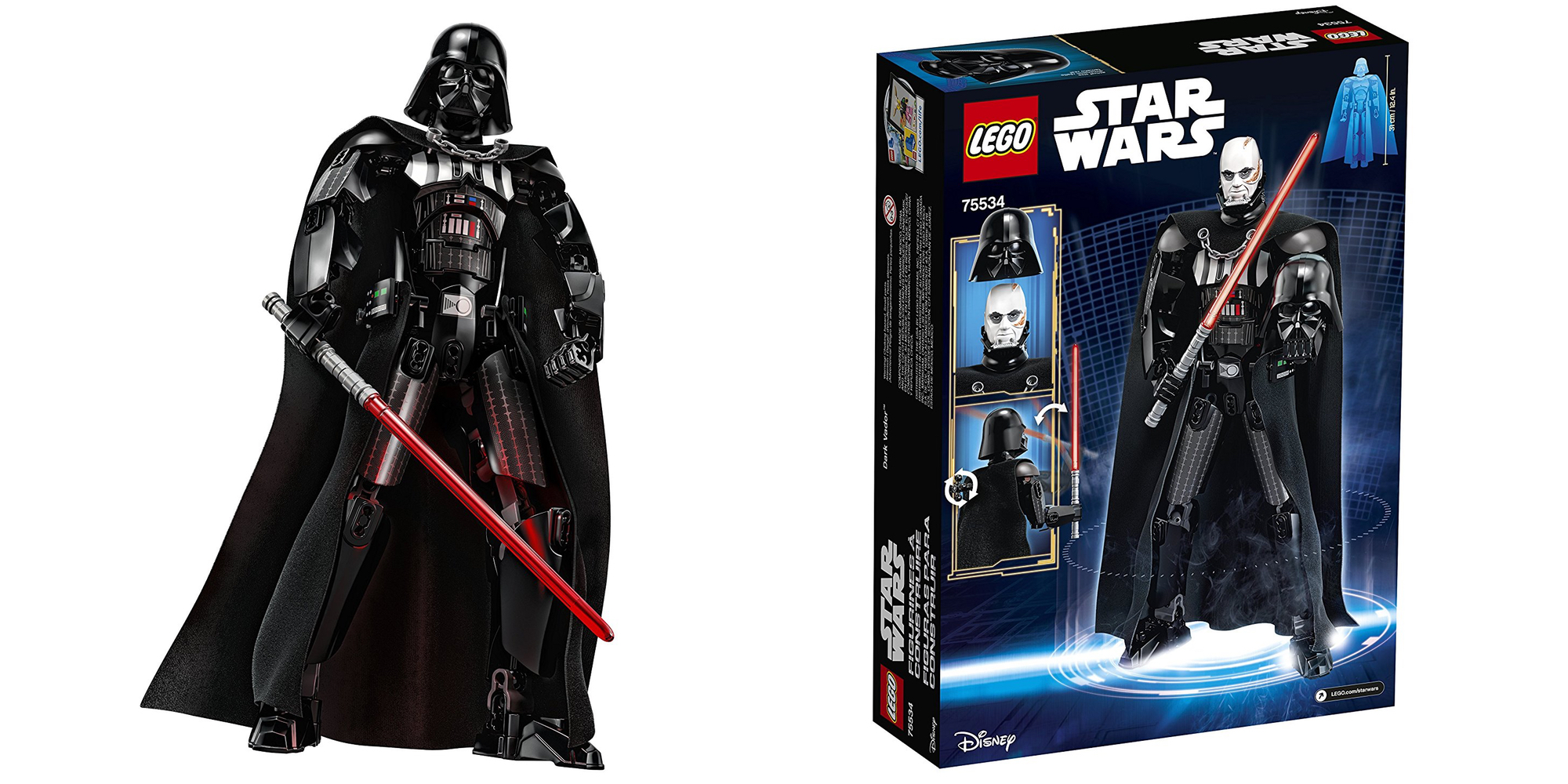 Assemble the 12-inch LEGO Darth Vader figure for $23 (Reg. $30) + Batman, City and more from $6