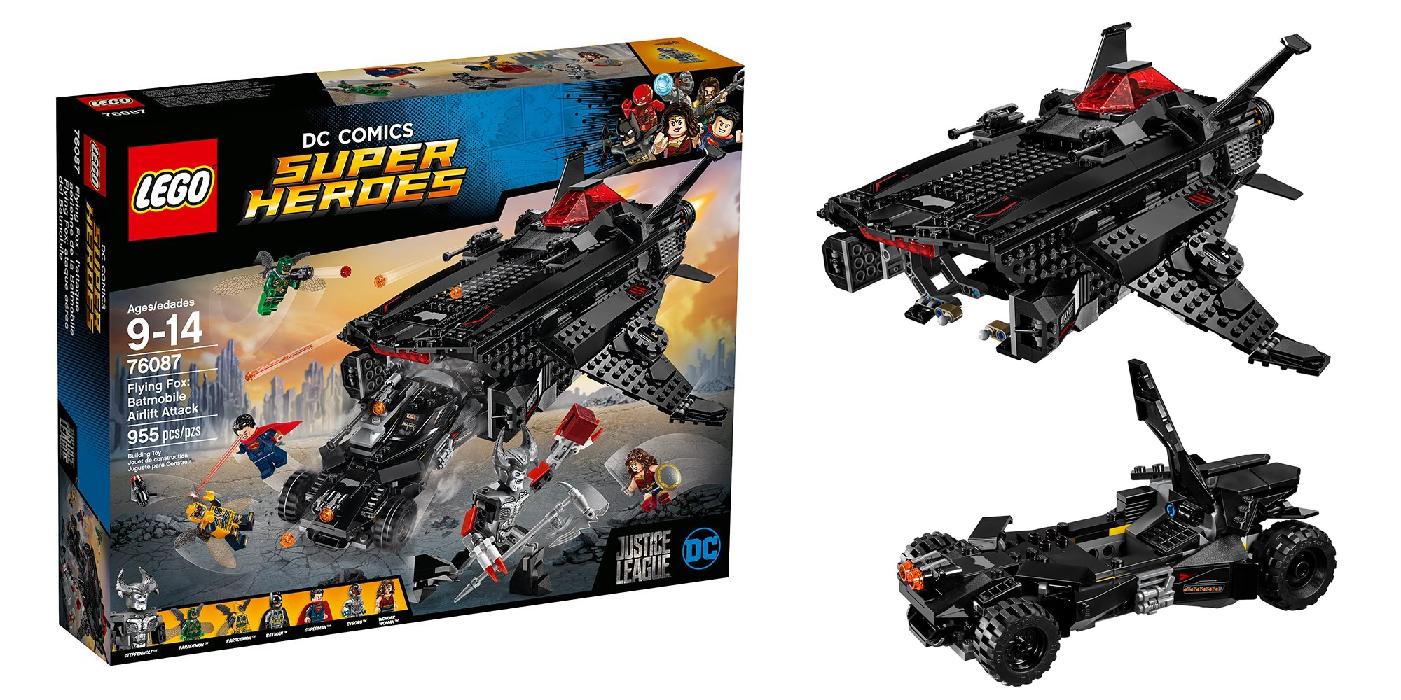 Team up w/ Batman & assemble this 955pc. LEGO kit for $93 (Reg. $130), more from $12