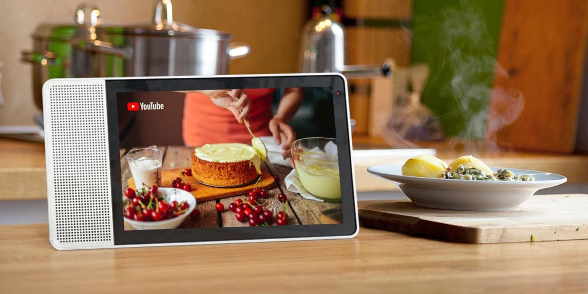Get help in the kitchen & more w/ Lenovo's Smart Displays from $85 shipped (Reg. up to $250)