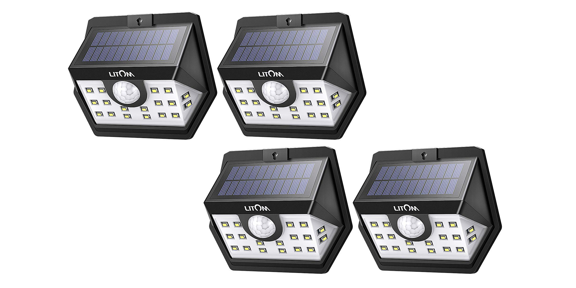 Green Deals: four-pack 20 LED Solar Outdoor Lights $29.50, more