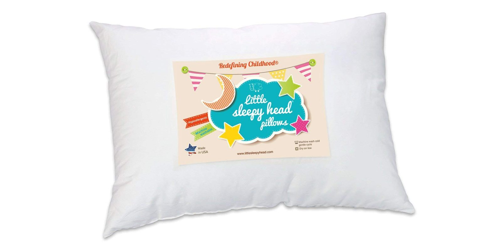 this hypoallergenic toddler pillow has stellar ratings at amazon now 14 prime shipped 9to5toys. Black Bedroom Furniture Sets. Home Design Ideas