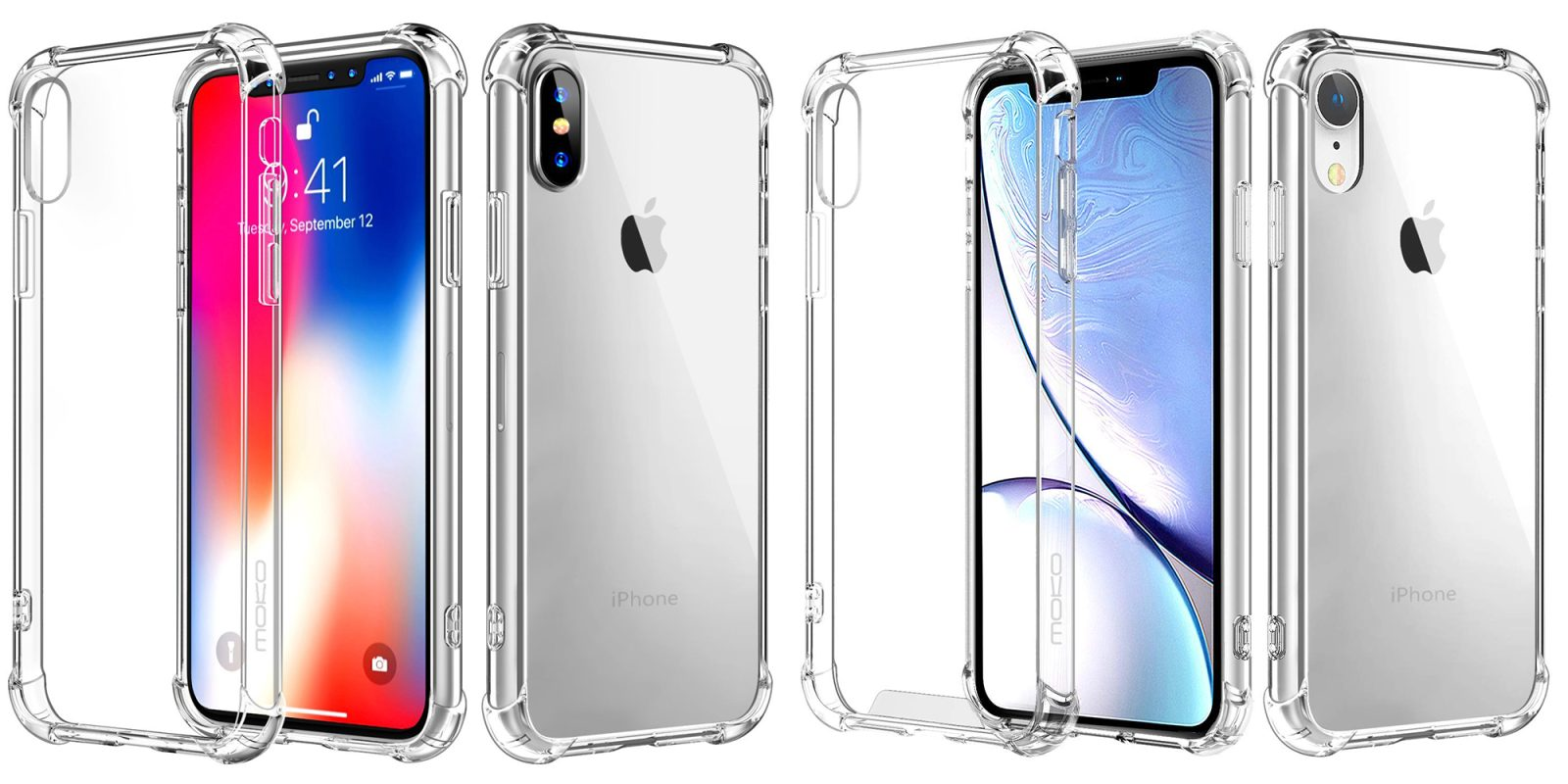 size 40 42d0b 09b7e Outfit your new iPhone XS/Max/R with a clear case bumper from $4 ...