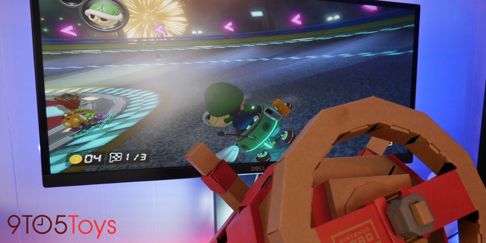 Level-up your Mario Kart gameplay w/ Nintendo's $40 Labo