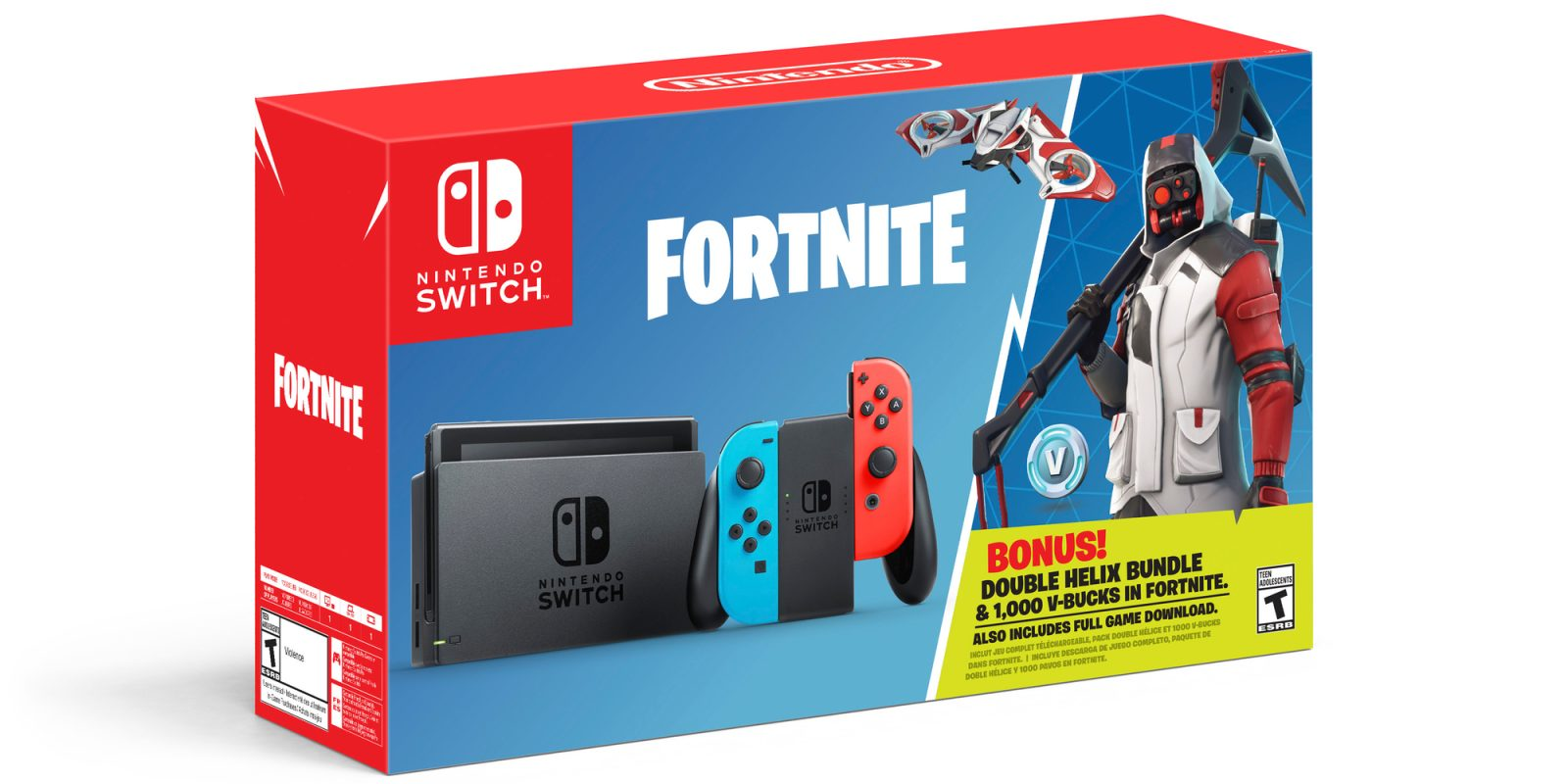 Nintendo announces Fortnite Switch bundle complete with V ...