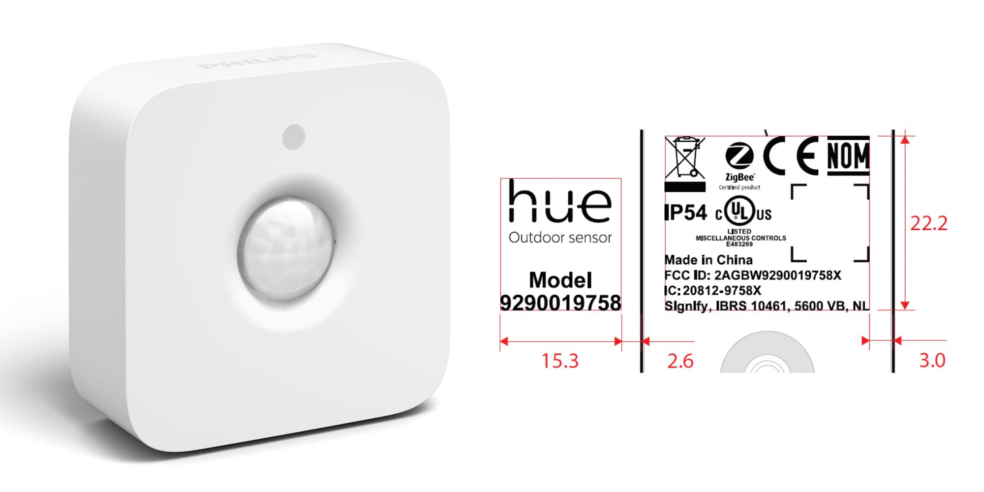 Here's our first glimpse at Philips' upcoming water-resistant Hue Outdoor Sensor