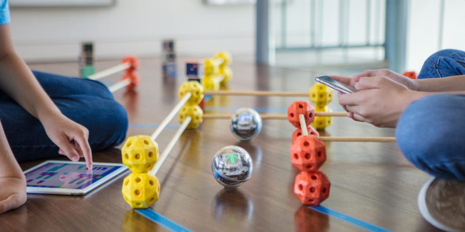 Sphero rolls out new BOLT robotic ball w/ education-focused coding, games, more