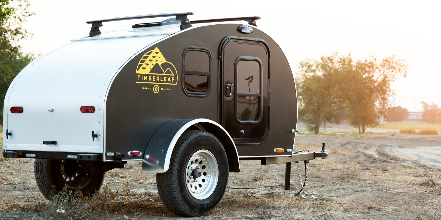 Timberleaf's Pika teardrop trailer goes minimal with under