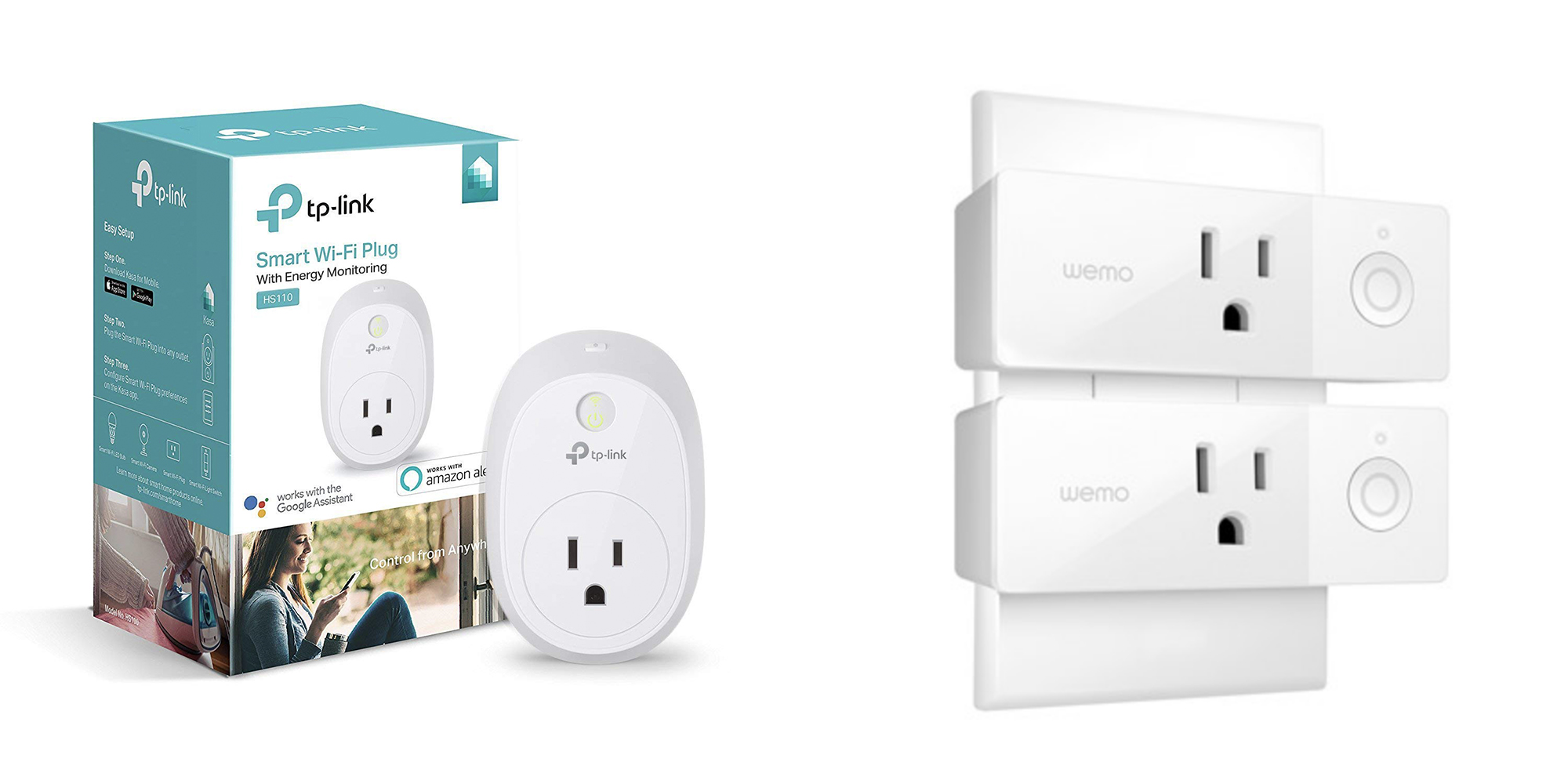 Finally upgrade your home w/ smart plugs from $20: Wemo HomeKit 2-pack $30, more