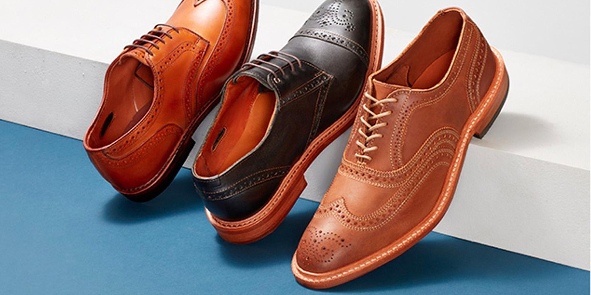 Allen Edmonds Factory-Seconds Sale takes an extra 20% off dress shoes, boots, more