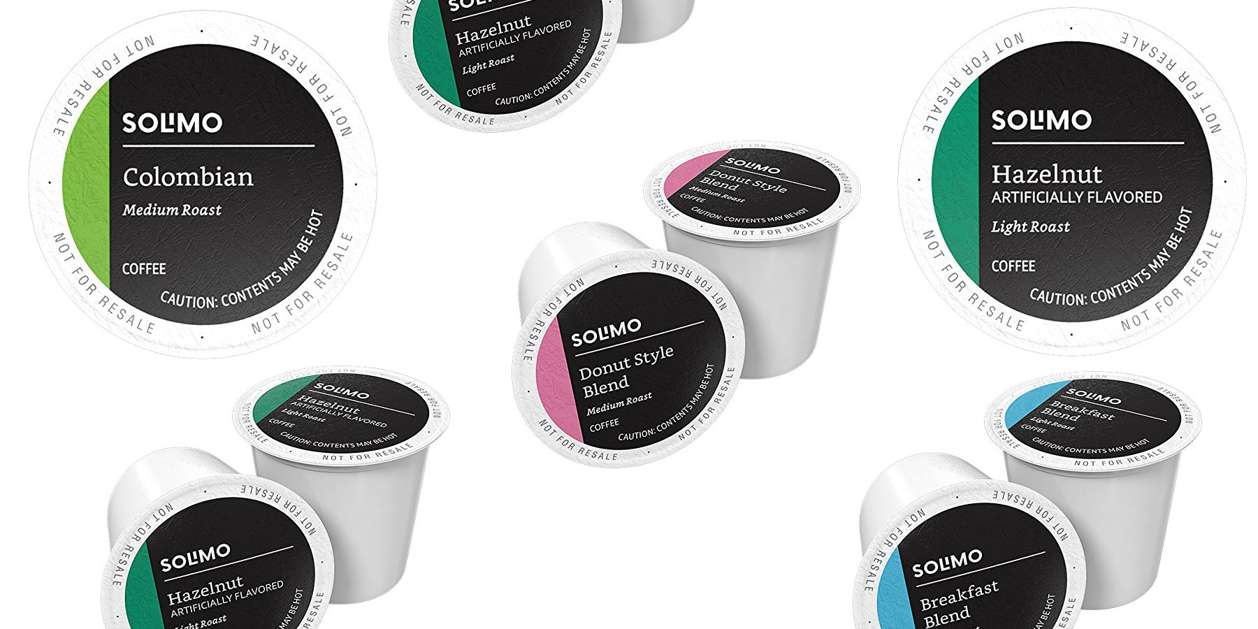Stock up on Amazon Solimo K-Cup Coffee Pods: 100-pack from $23 Prime shipped
