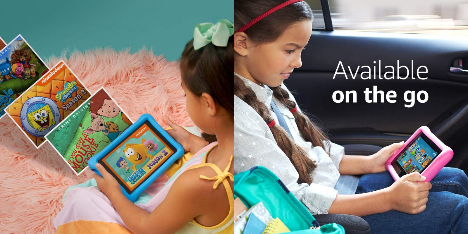 Amazon's Kids Edition Fire HD 8/10.1 are up to $40 off from $100