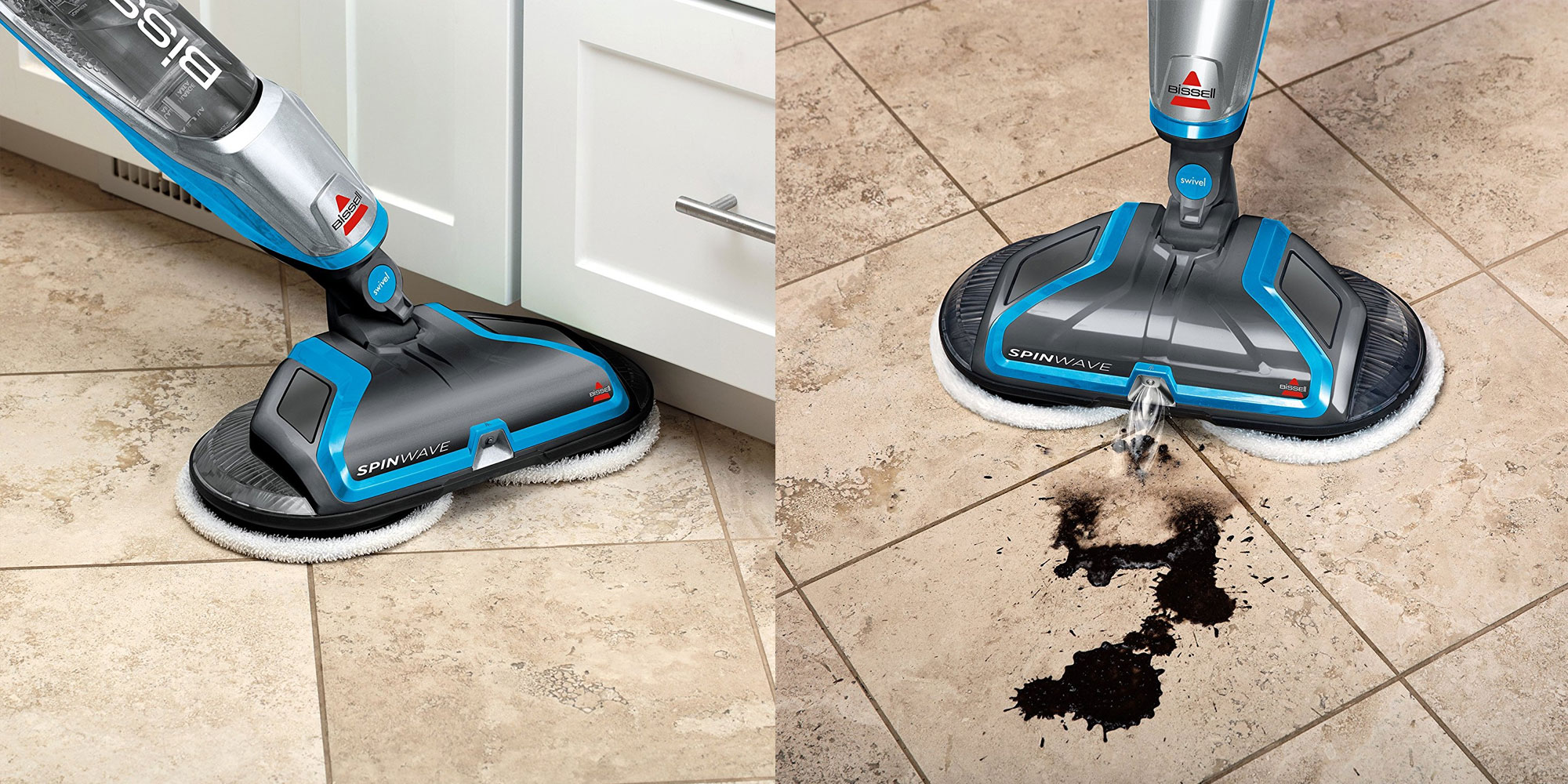 Keep Your Floors Spotless W Bissell S Spinwave Plus