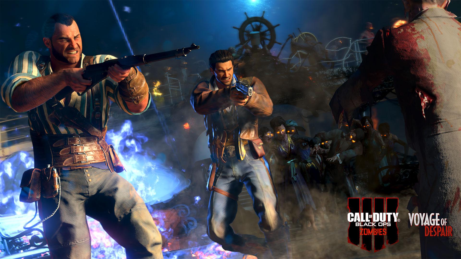 Call of Duty Black Ops 4 Zombies Voyage of Dispair