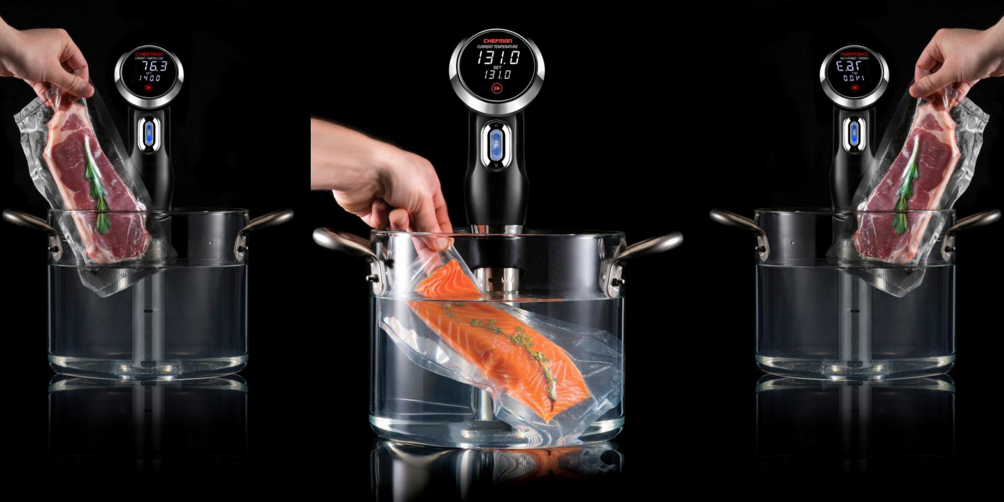 No need to spend Anova money to get sous vide at home, this Chefman is $50 (Amazon low)