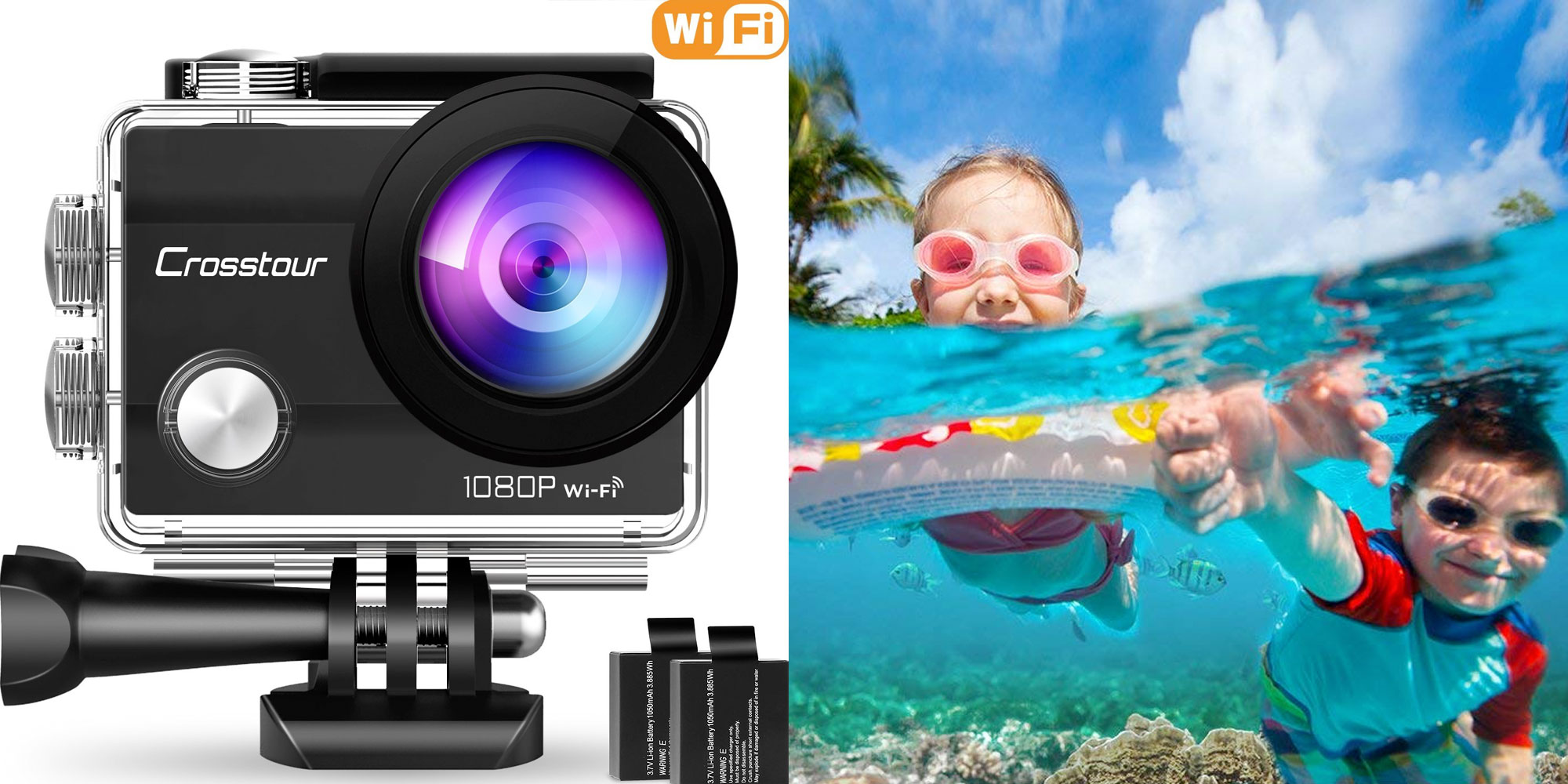 Capture everything w/ this budget-friendly 1080p waterproof action camera at $29
