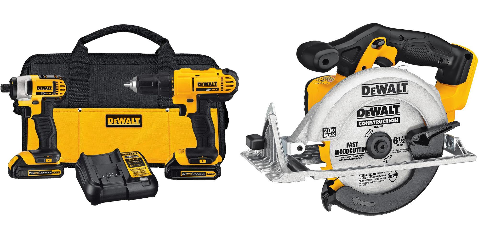 Save $75 off DEWALT's 20-Volt MAX Cordless 3-Tool Combo: $199 shipped
