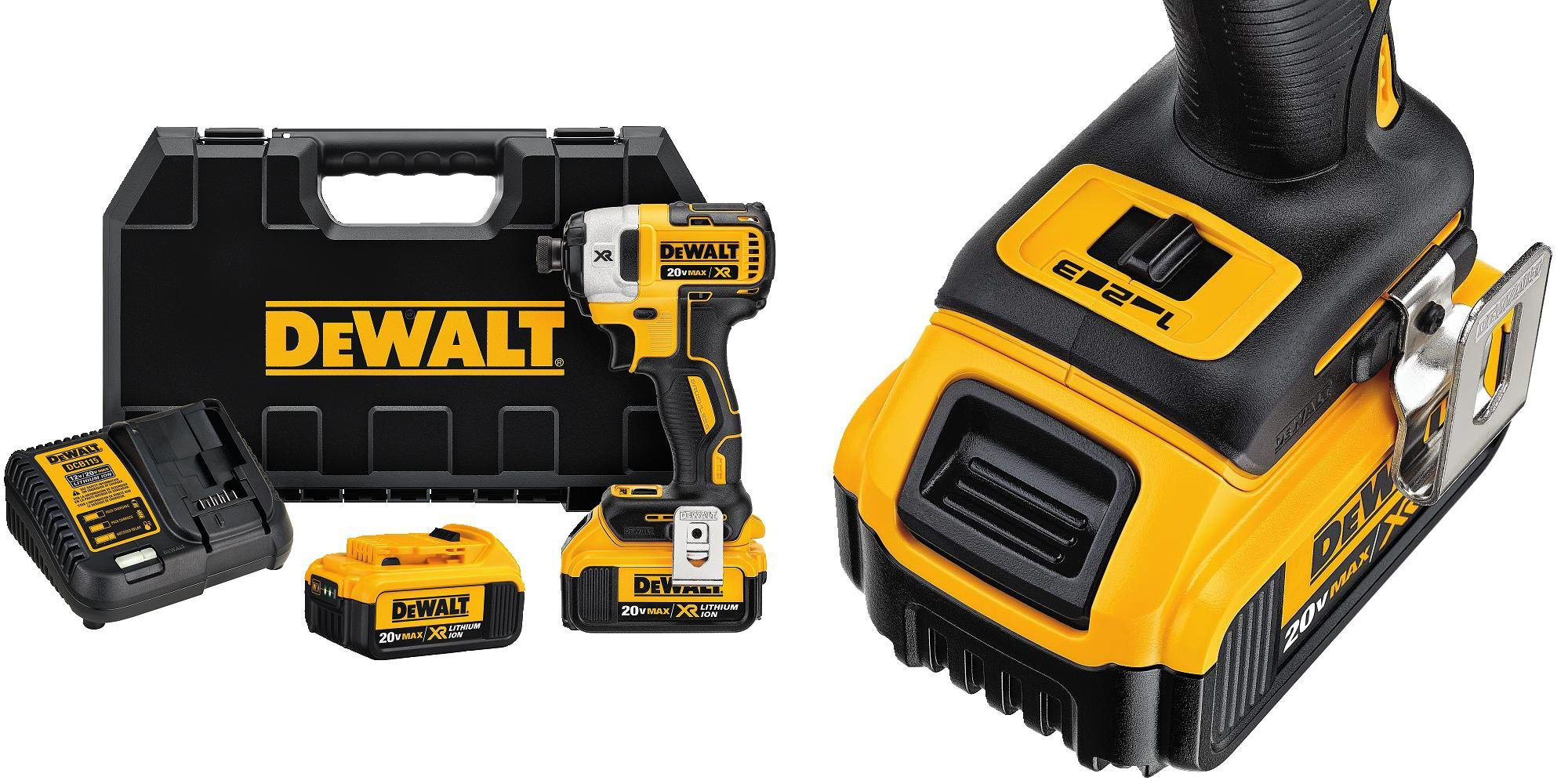 DEWALT's Impact Driver Kit hits all-time low of $145 shipped ($105 off)