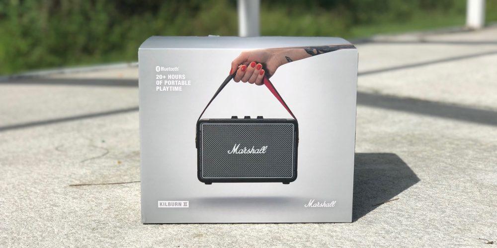 Marshall Kilburn Bluetooth Speaker Box