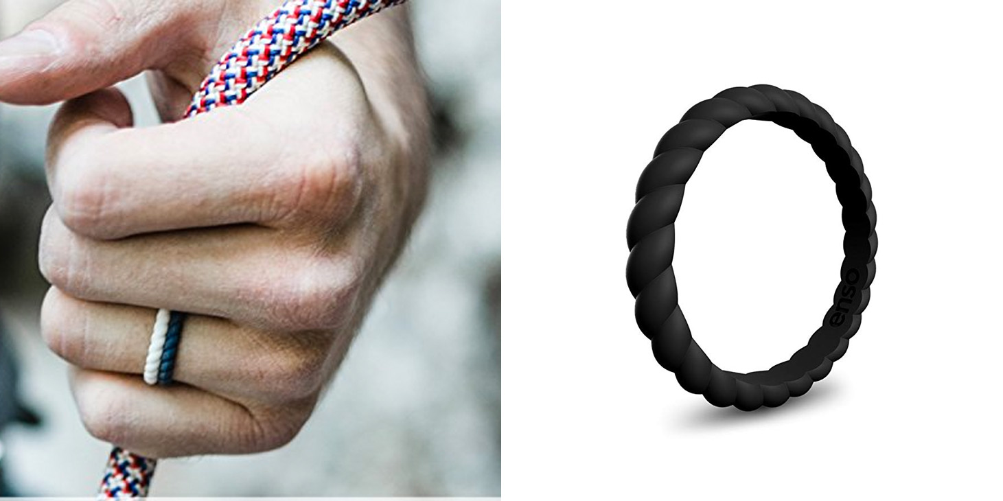 Enso Silicone Braided Rings Are A Great Alternative For
