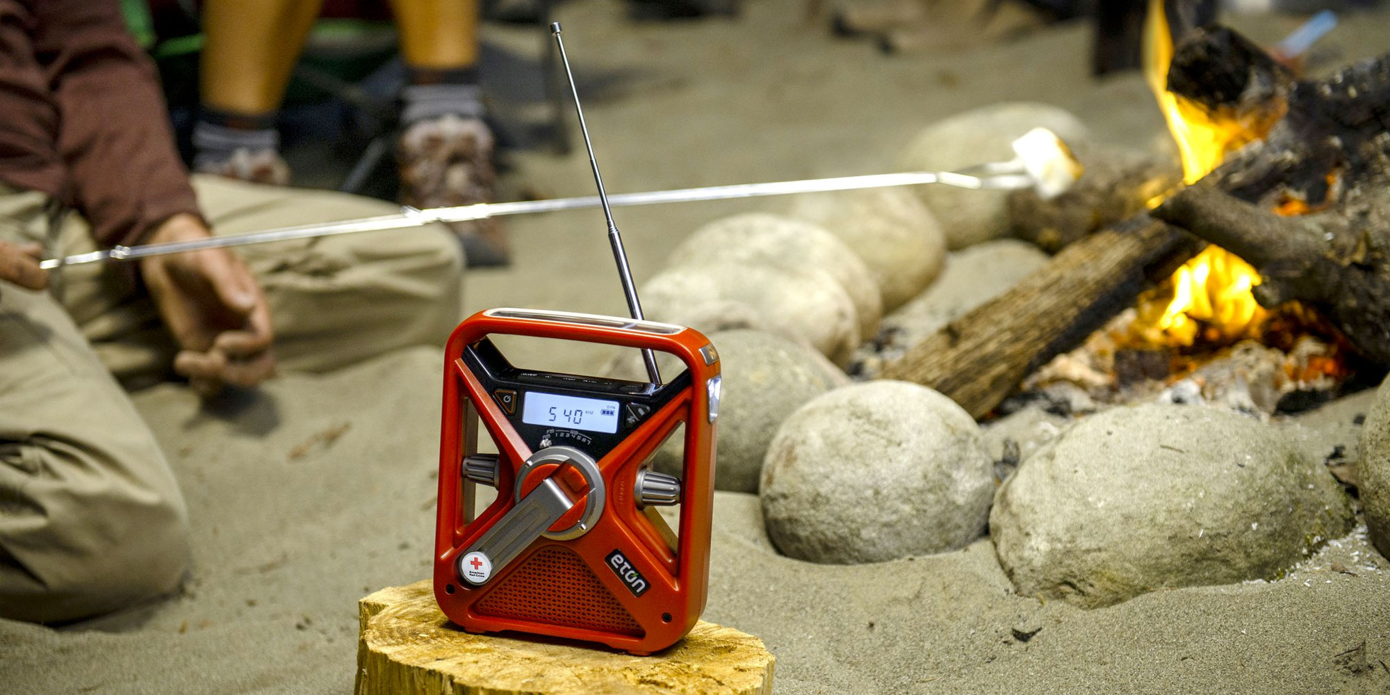 This crank emergency weather radio/phone charger is needed in any preparation kit for $35