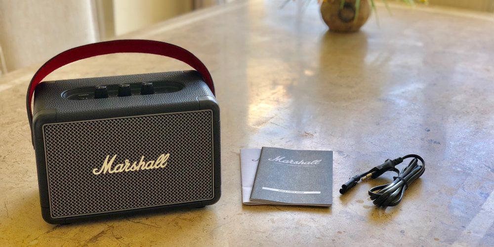 Marshall Kilburn Bluetooth Speaker Details