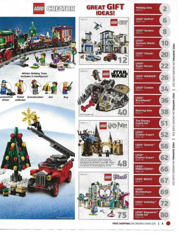 LEGO 2018 Christmas Catalog is here! - 9to5Toys