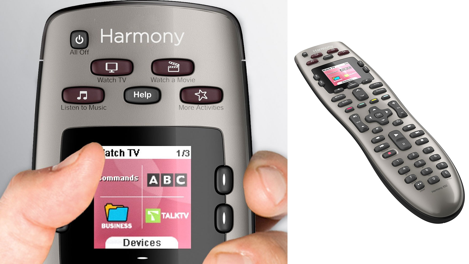 Turn 8 remotes into 1 w/ Logitech's Harmony 650 universal remote for $30 (Reg. $40+)