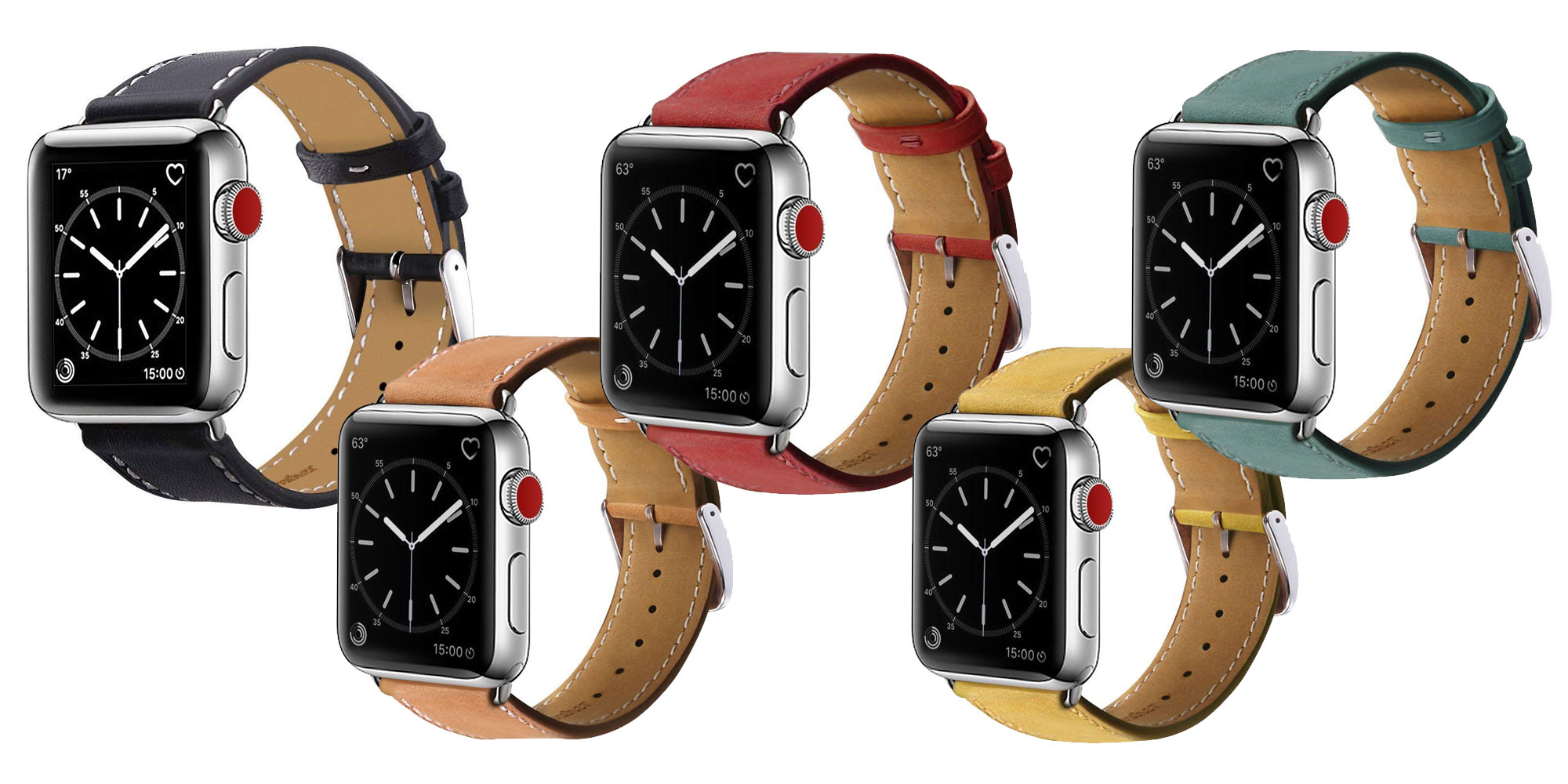 Add this $5 Prime shipped leather band to your Apple Watch collection in multiple colors