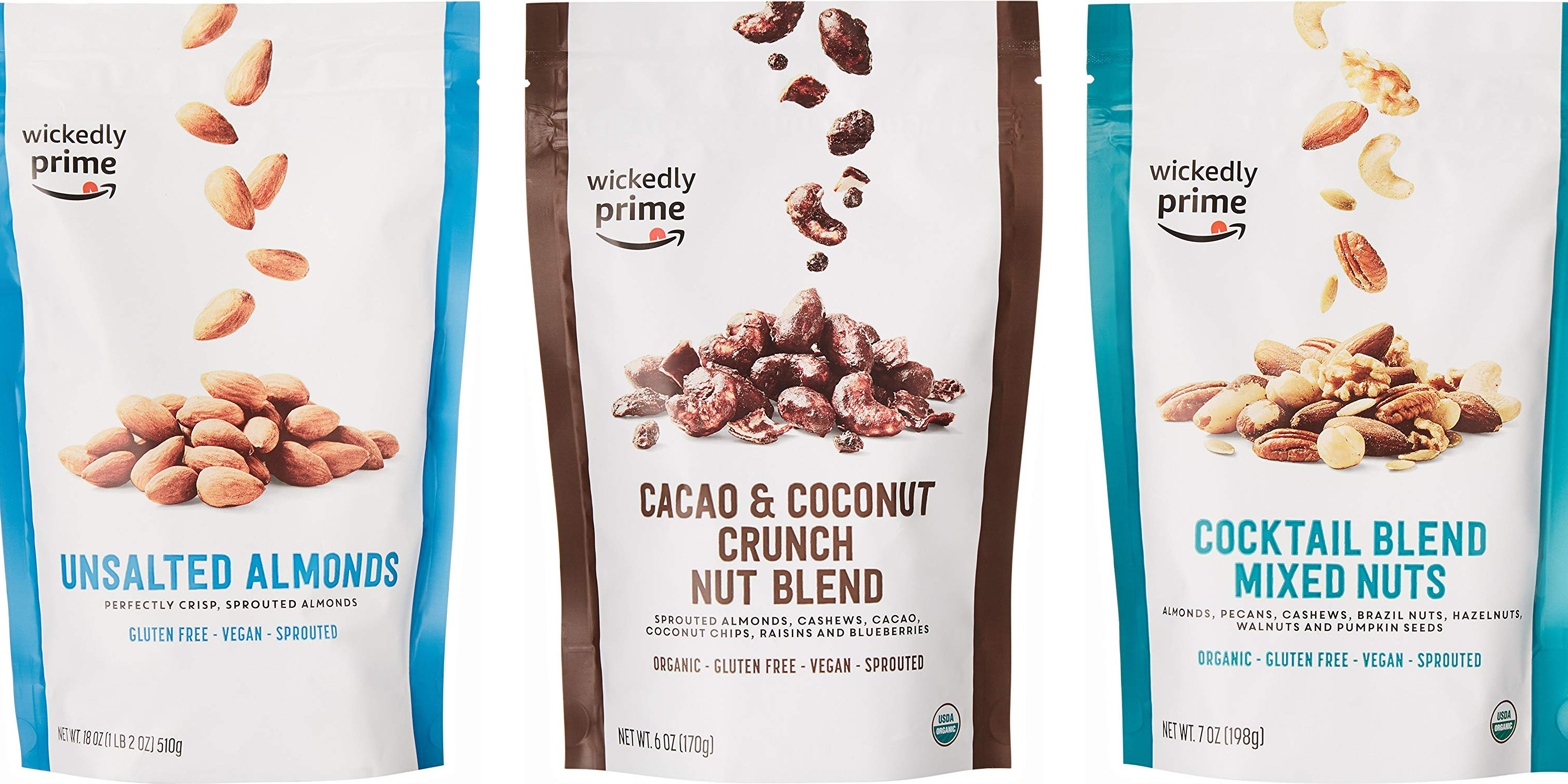 Amazon offers 30% off Nuts & Trail Mix today from $6.50: almonds, peanuts, more