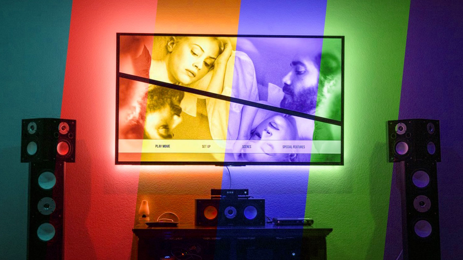Pangton Villa USB TV RGB LED Backlighting
