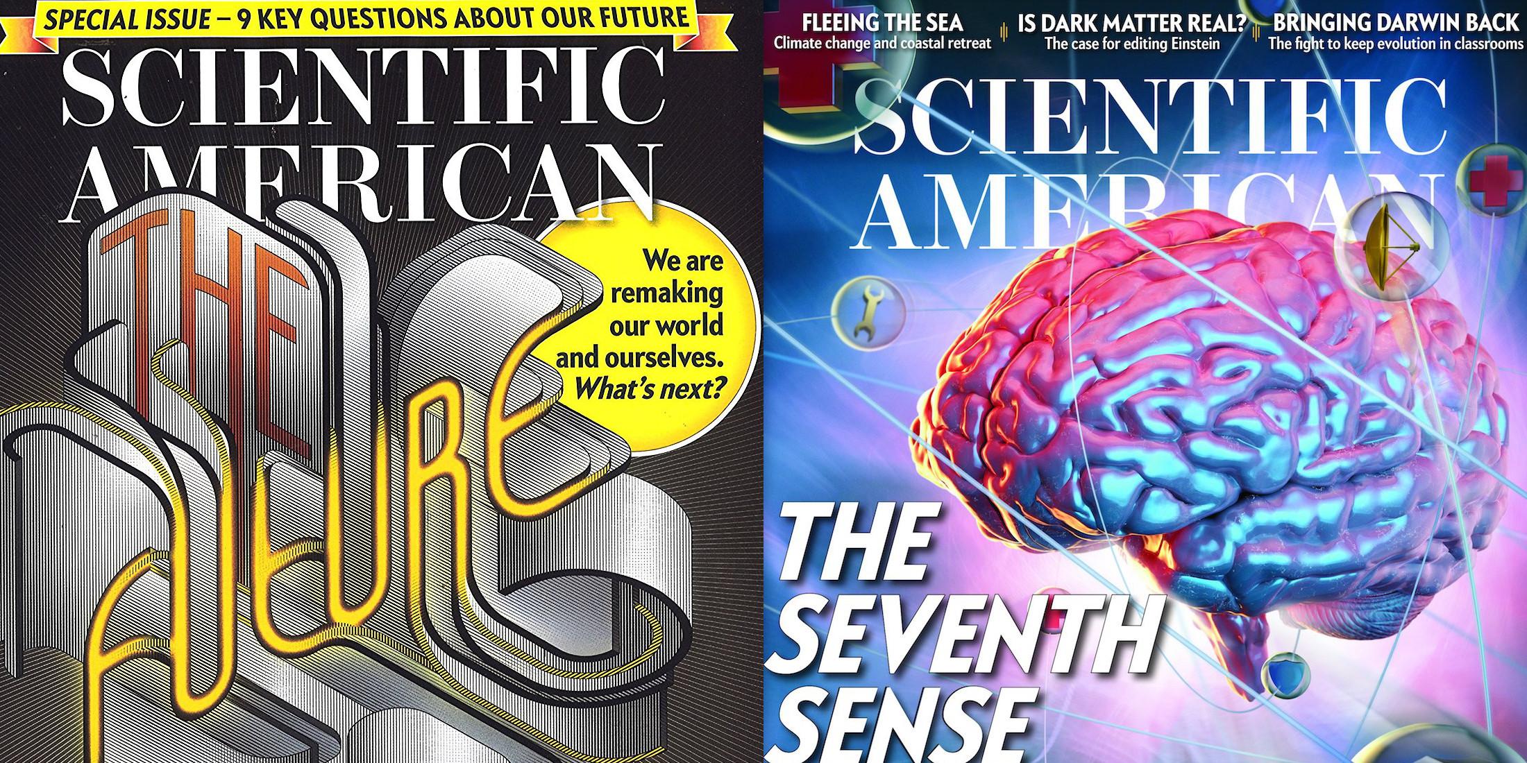Scientific American Magazine gets a rare discount: 1-yr. $23 shipped (Reg. $35)