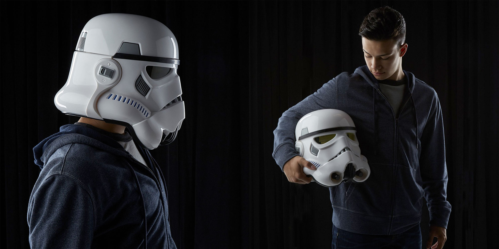 Enlist in the Imperial Army w/ this replica Star Wars Stormtrooper Helmet at $64.50 (20% off)