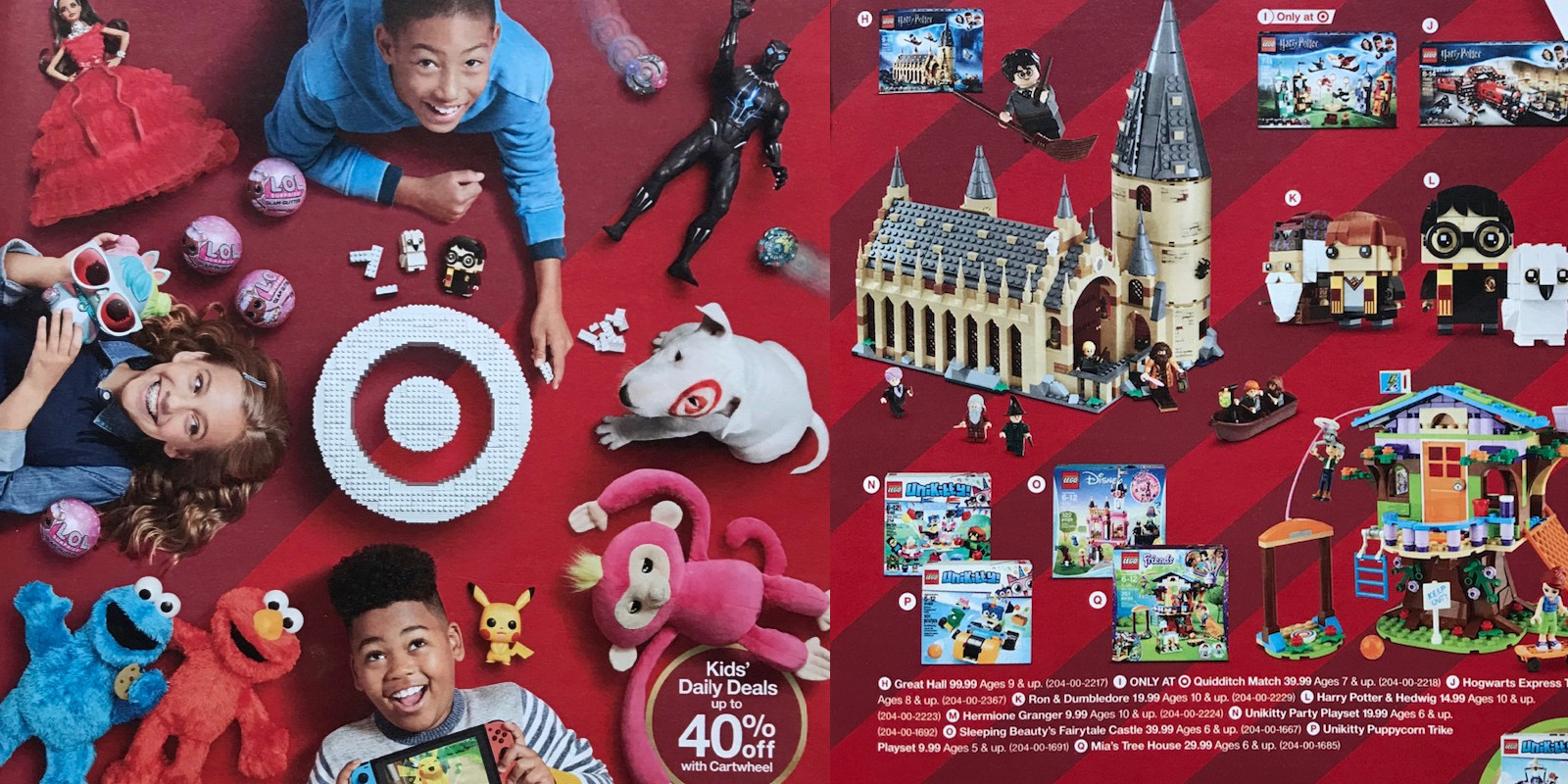 Target Toy Book 2018 25 Off Coupons Lego Nerf More 9to5toys