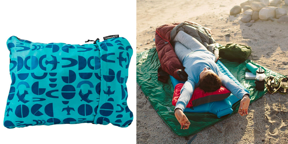 This Compressible Pillow Makes Travel Easier More Comfortable At