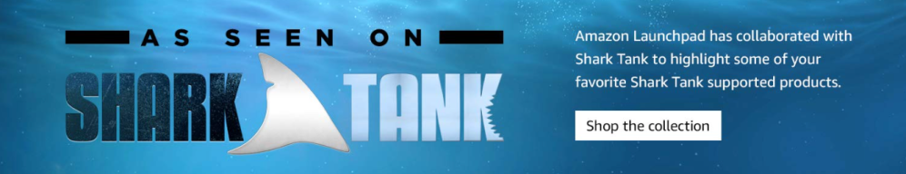 Amazon and Shark Tank announce partnership